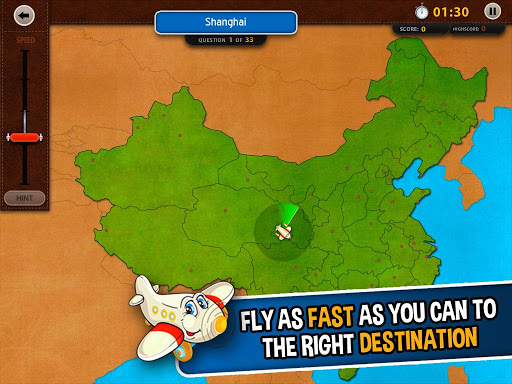 GeoFlight China: Geography