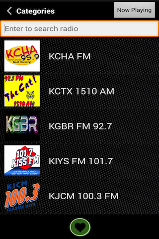 FreeStreams Free Radio App- screenshot