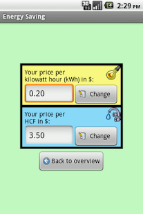 Energy Saving - screenshot thumbnail