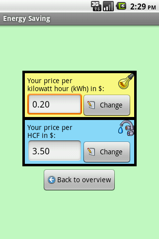 Energy Saving - screenshot