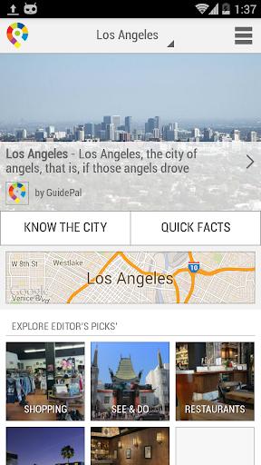 GuidePal 洛杉矶城市指南