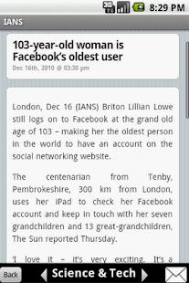 IANS India News- screenshot thumbnail