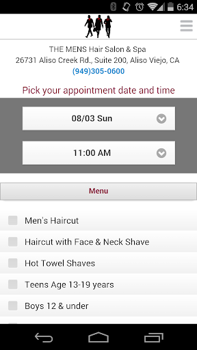 The Men's Hair Salon Spa