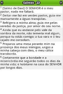 Bíblia em Português (PTv7D)- screenshot thumbnail