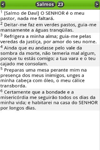 Bíblia em Português (PTv7D)- screenshot