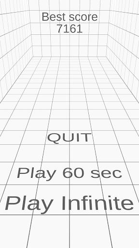 Not the white tile