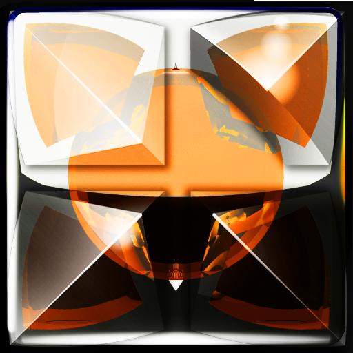 Next Launcher Theme orange sn