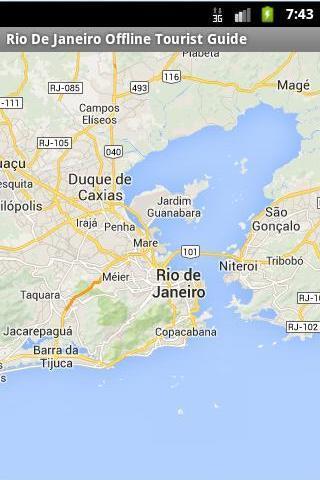 Rio Offline Tourist Maps