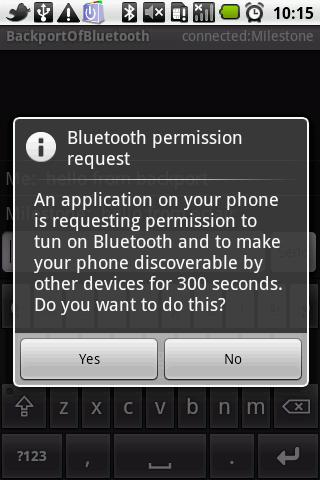 backport.android.bluetooth - screenshot