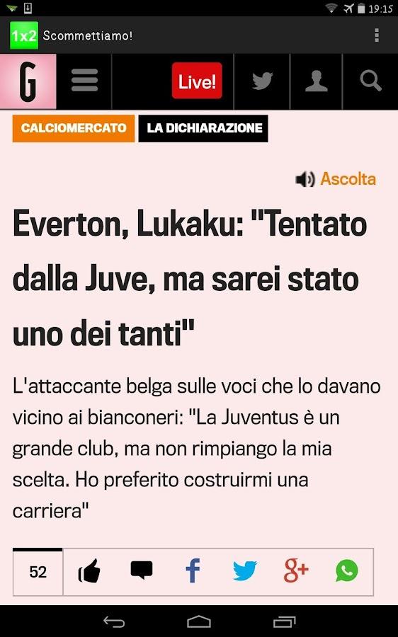 We bet! (Italy version) - screenshot