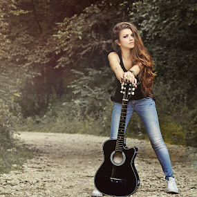 The song of memories by Andra Soceanu - People Musicians & Entertainers (  )