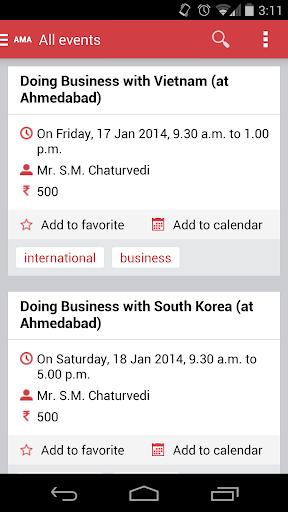 AMA Events Ahmedabad