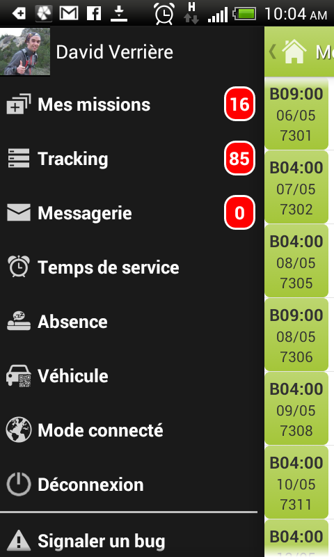 Dispatch Mobile- screenshot