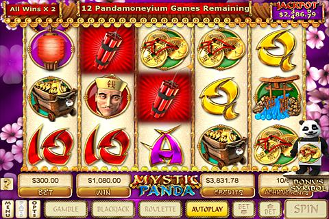 Mystic Panda Slots - screenshot