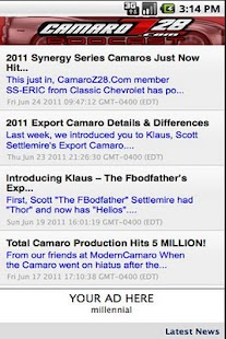 CamaroZ28.COM Podcast- screenshot thumbnail