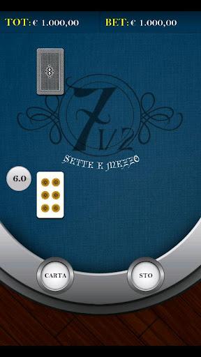 免費紙牌App|Sette e Mezzo|阿達玩APP