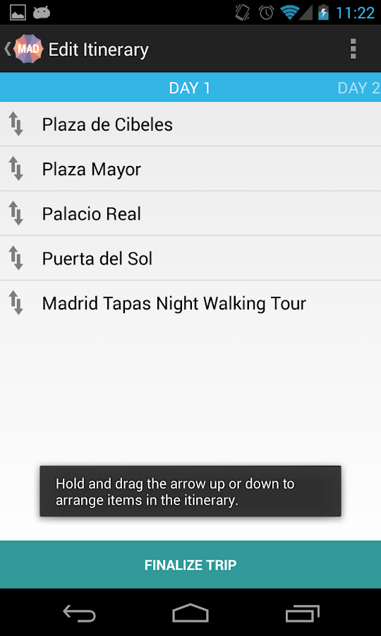 Holidayen Madrid- screenshot
