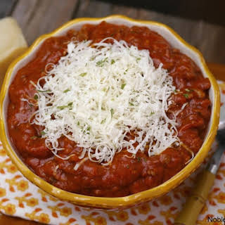 Chili With Ground Beef And Italian Sausage Recipes.