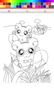 Coloring Book Dora Hamster APK For Blackberry