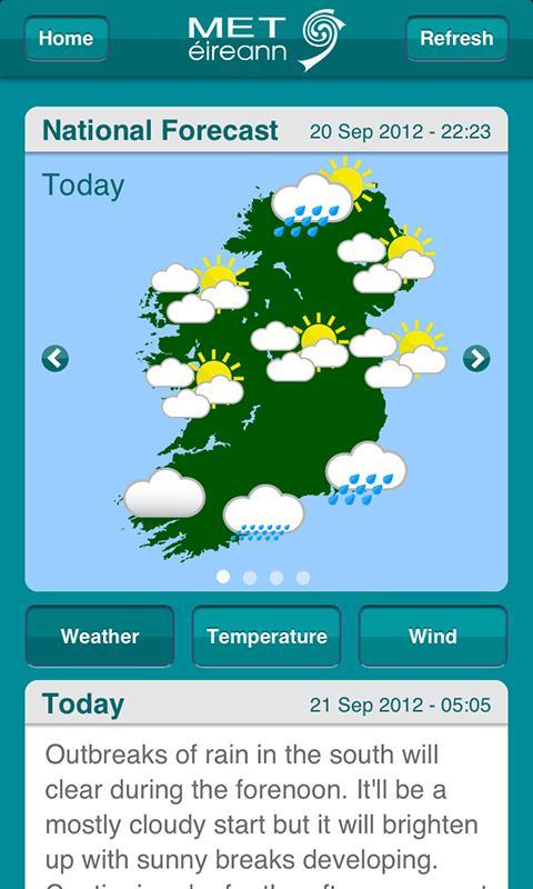 Met Éireann- screenshot