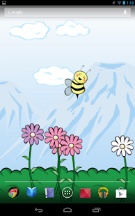 Bumbl Bees! Live Wallpaper - screenshot thumbnail