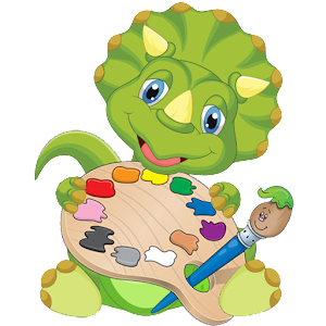 Dinosaurs Coloring Book for PC and MAC