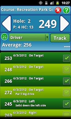 Golf Shot Tracker - Golf GPSのおすすめ画像1