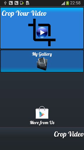 Crop Video : Video Editor