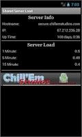 Screenshot of Shared Server Load