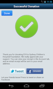 GiveEasy - donate to charities- screenshot thumbnail
