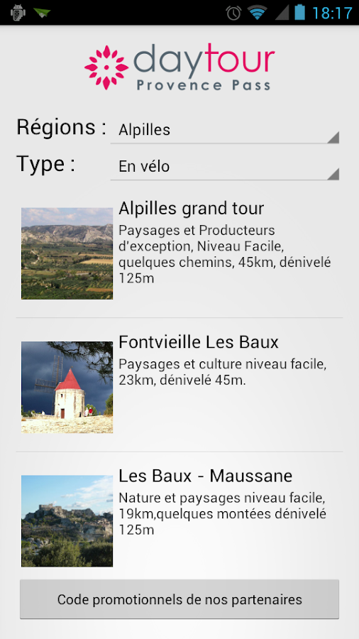 Your provence guide- screenshot