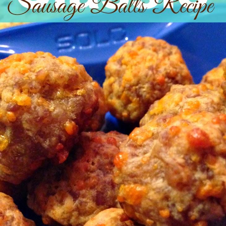 3 Ingredient Sausage Balls Recipe