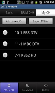 LG TV Remote 2011- screenshot thumbnail