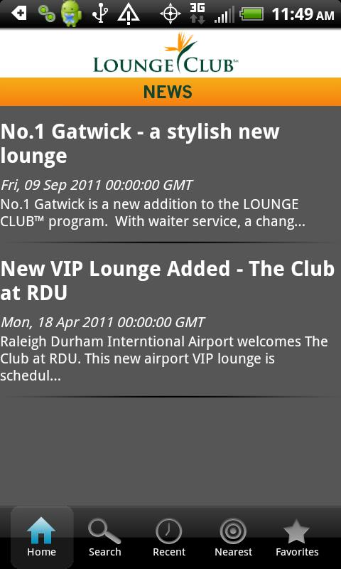 Lounge Club- screenshot