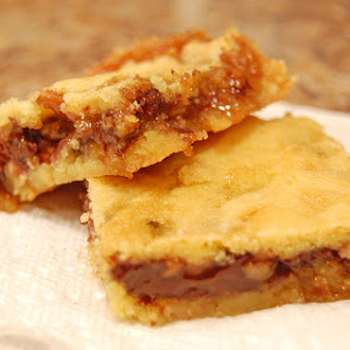 Gooey Turtle Bars Recipe