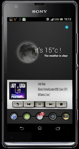 玩免費音樂APP|下載Player666 Zooper skin app不用錢|硬是要APP