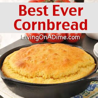 Best Ever Easy Cornbread.