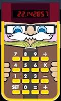 Screenshot of Little Professor math for kids