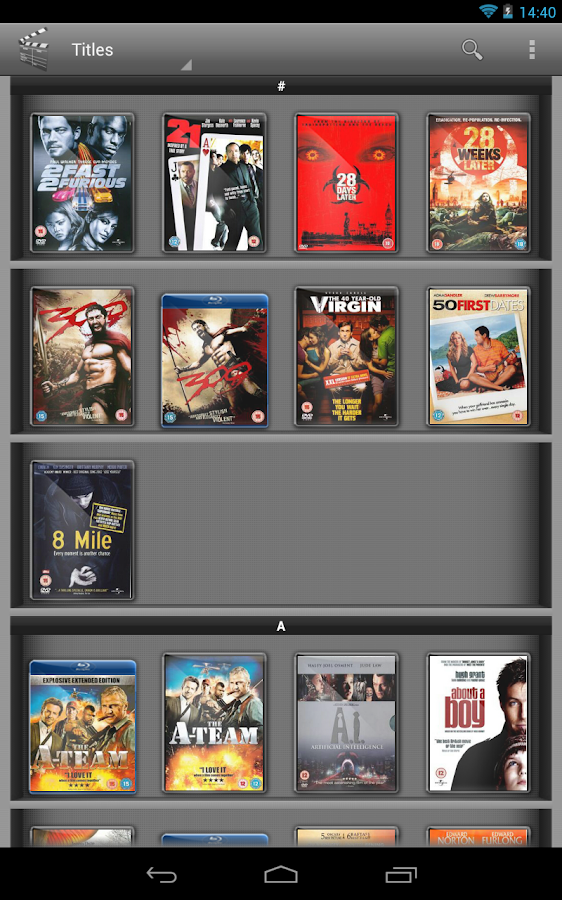 My Movies Pro - Movie Library- screenshot