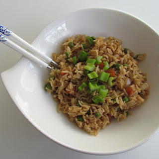 Chinese Stir-fried Vegetable Rice.