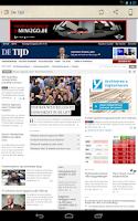 Screenshot of België Kranten