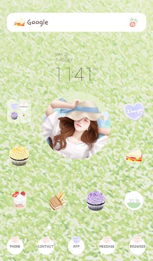 lovely girl picnic dodol theme