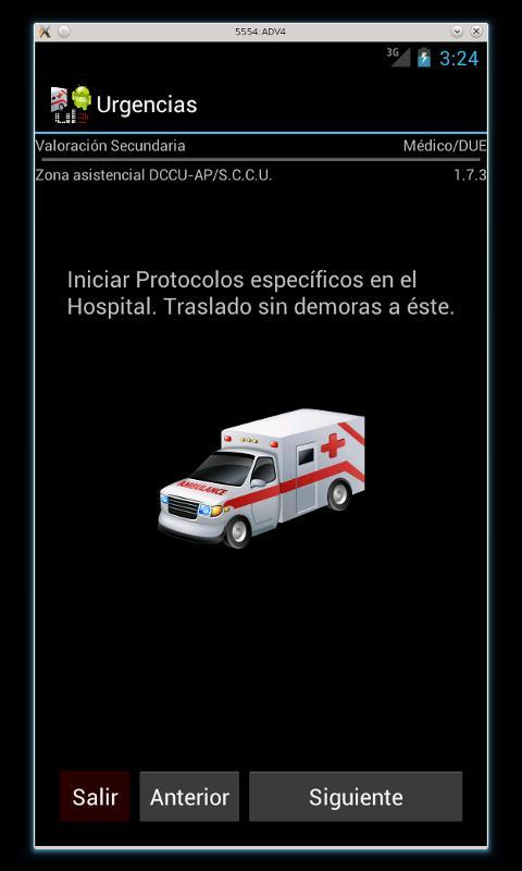 Urgencias- screenshot