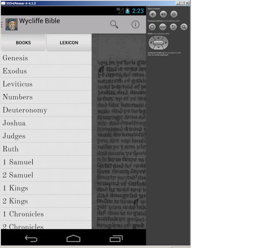 Wycliffe Bible + DRC + Lexicon