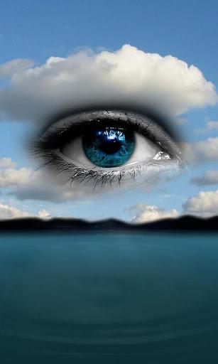 【免費娛樂App】3D Eye Drop Ripple-APP點子