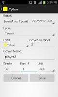 Screenshot of Penalty Card Neo