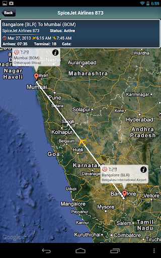 Bangalore Airport + Radar BLR
