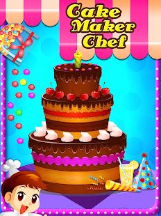 Cake Chef Maker