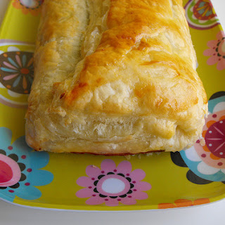 Sausage, Spinach, and Cheese Puff Pastry
