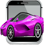 Toddler Viber Kids Pink Car